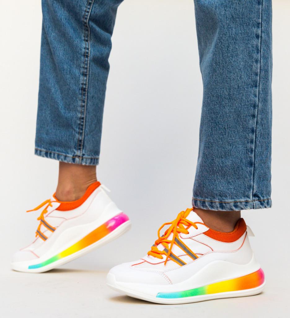 Pantofi Sport Rujee Portocalii imagine 2021