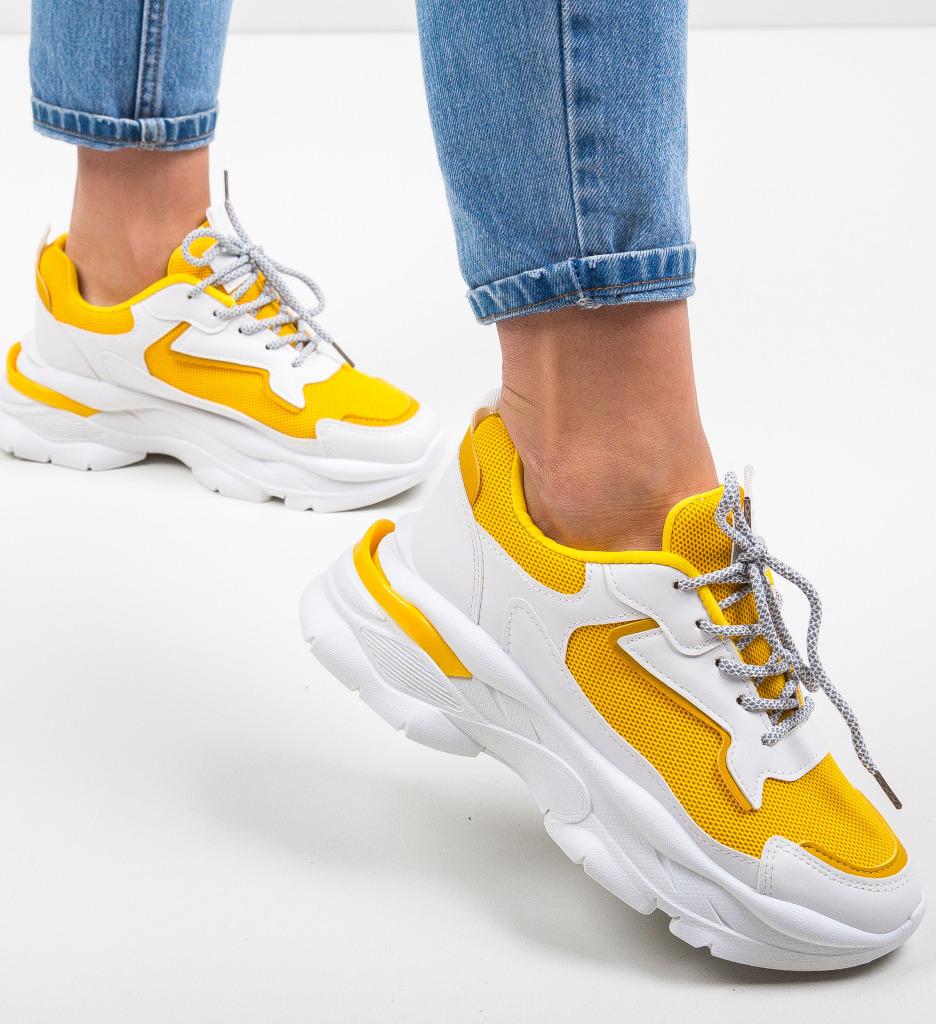 Pantofi Sport Rujje Galbeni