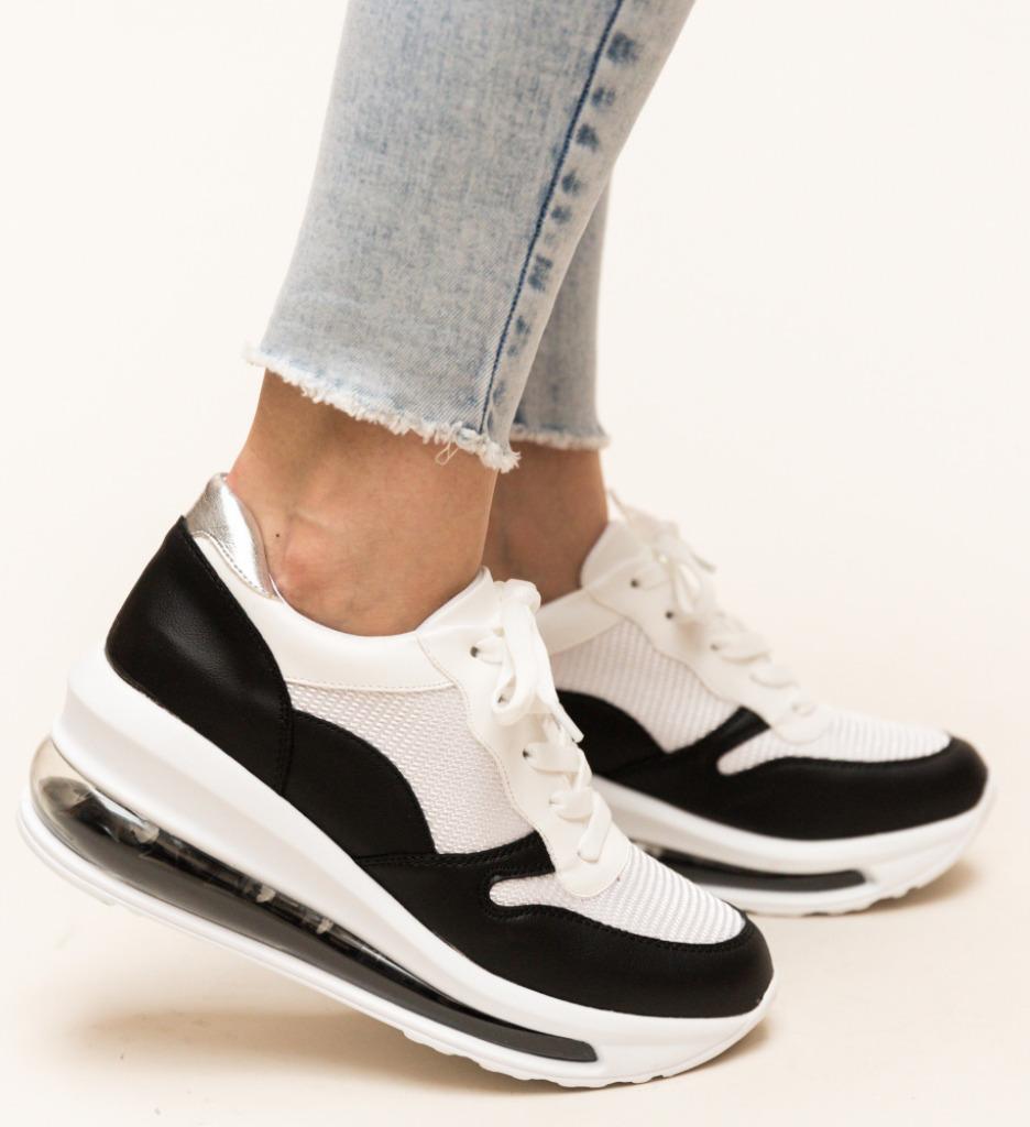 Pantofi Sport Sharmin Negri imagine