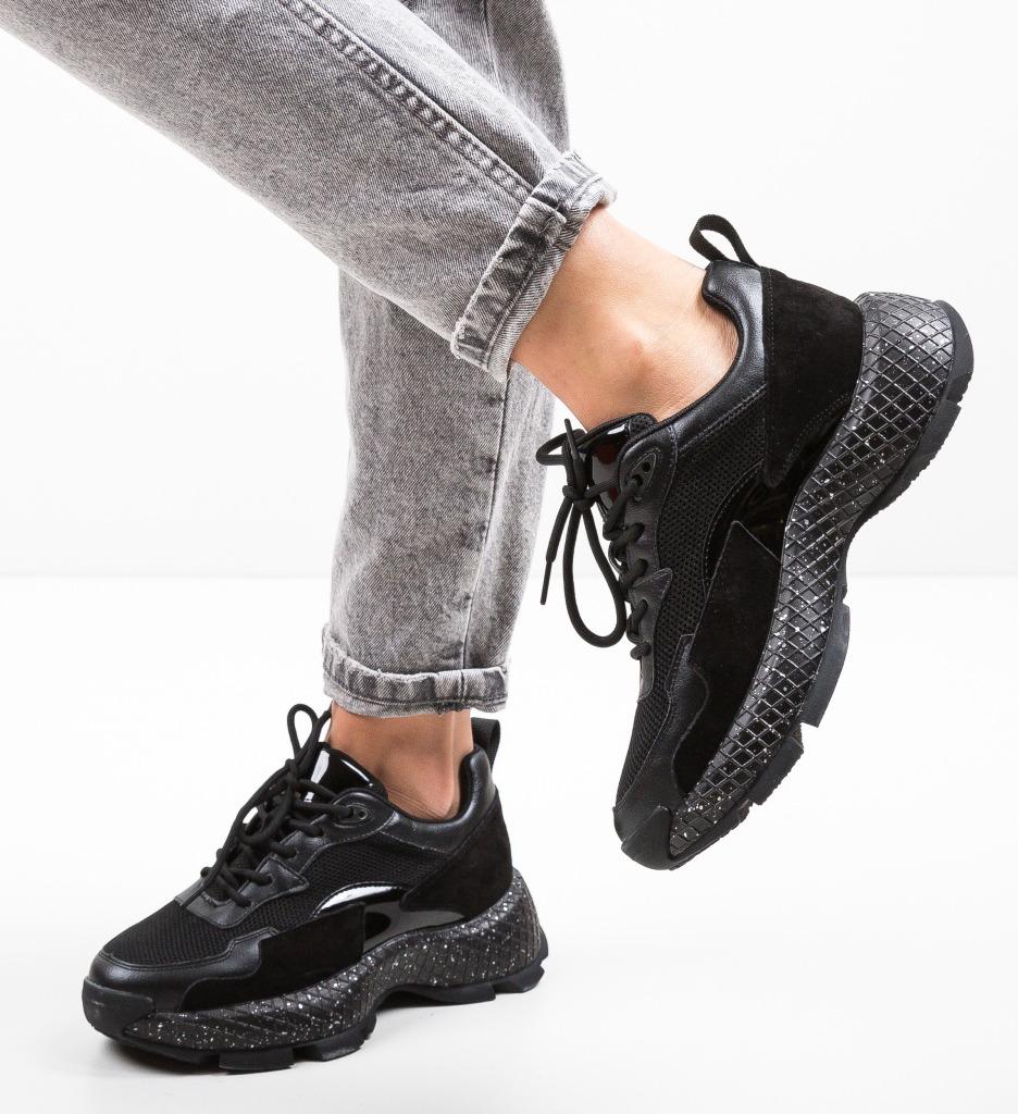 Pantofi Sport Sion Negri