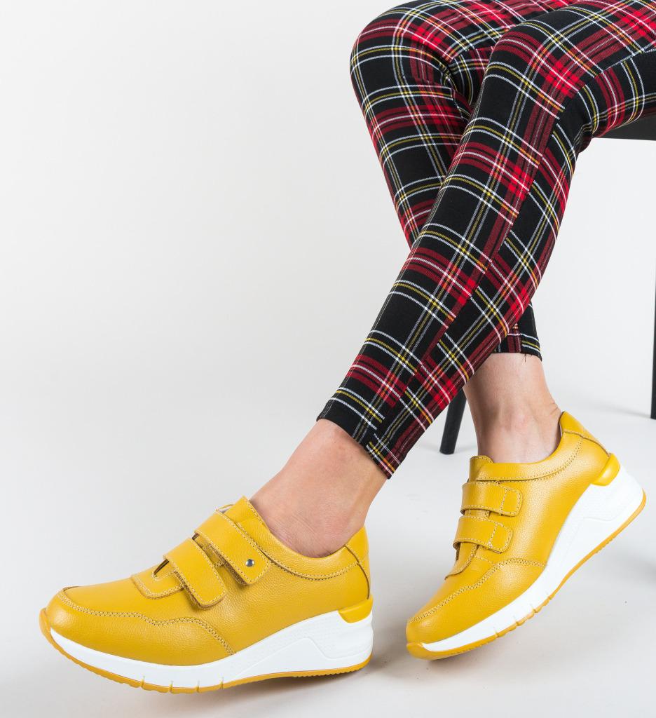 Pantofi Sport Sonya Galbeni
