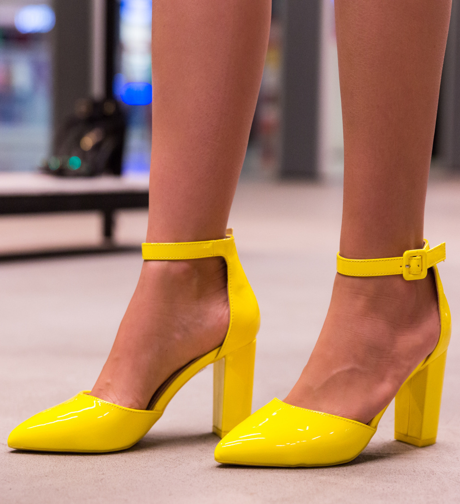 Pantofi Tillman Galbeni imagine