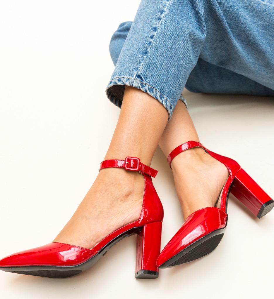 Pantofi Tillman Rosii imagine