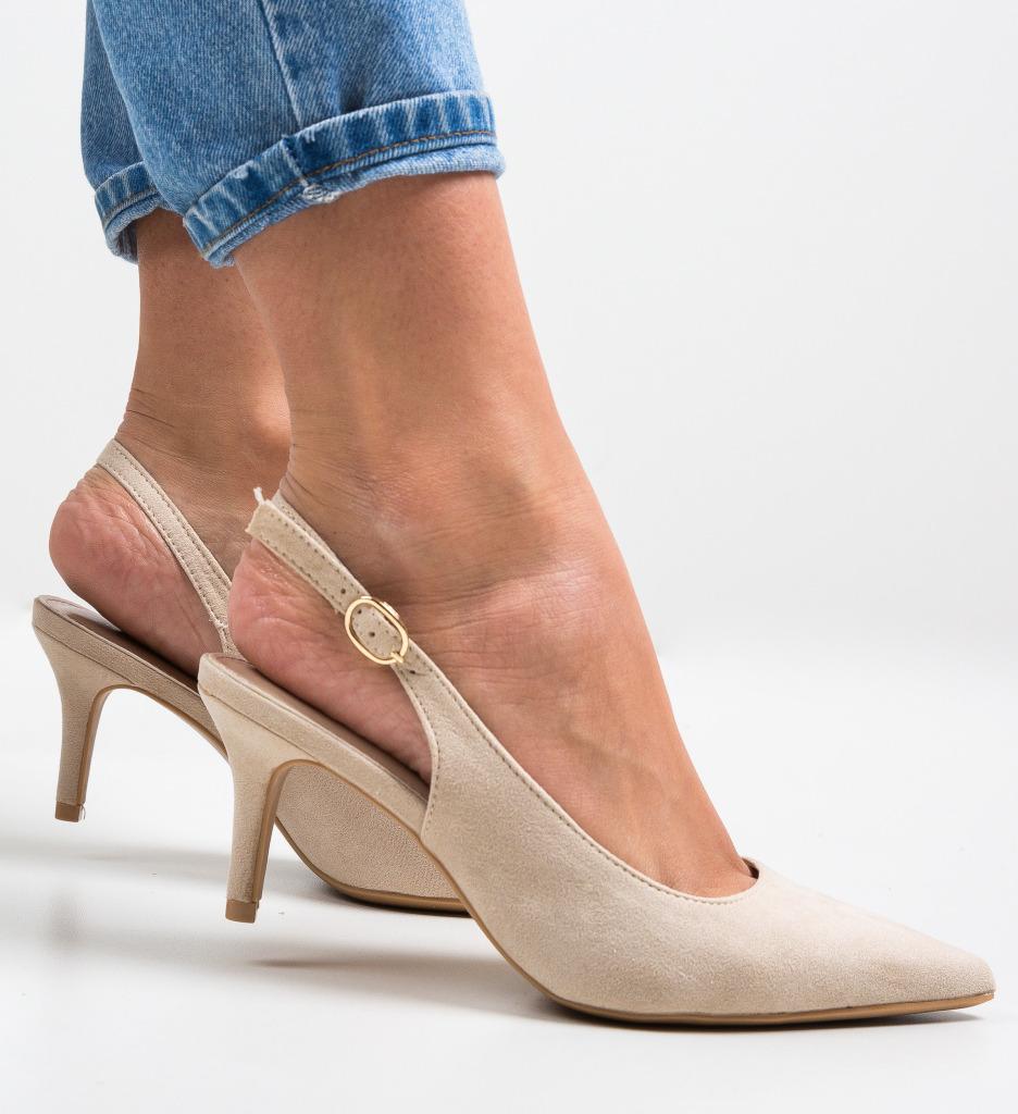 Pantofi Umaiz Bej