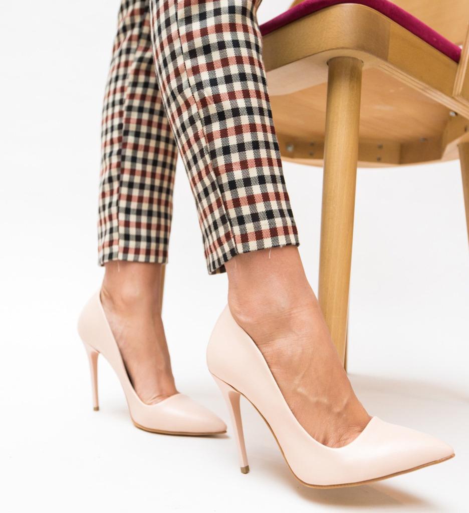 Pantofi Vomo Nude 2 imagine 2021