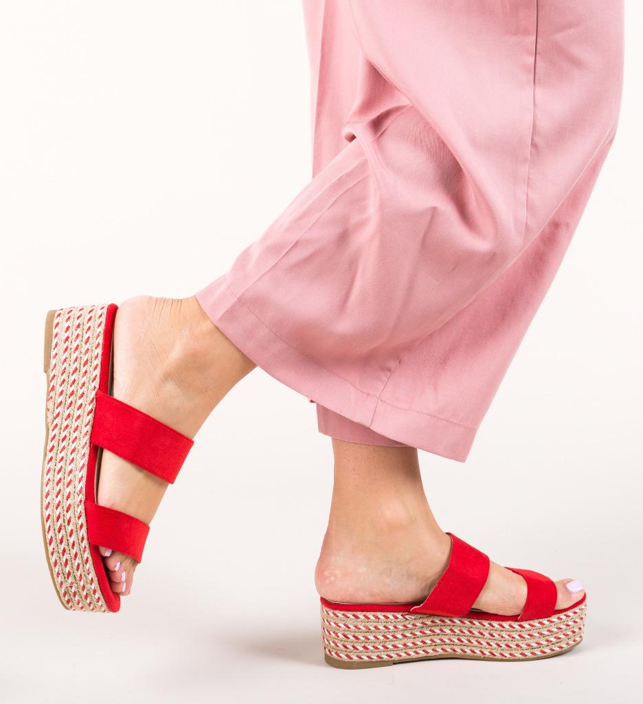 Papuci Liya Rosii