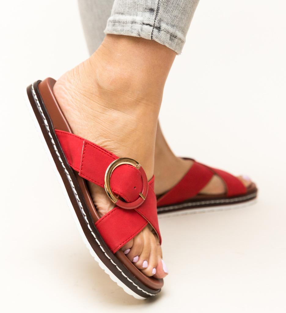 Papuci Morse Rosii