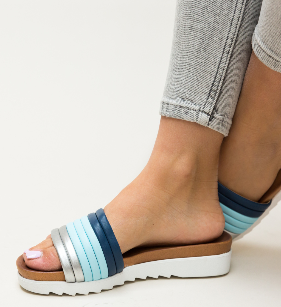 Papuci Ned Bleu