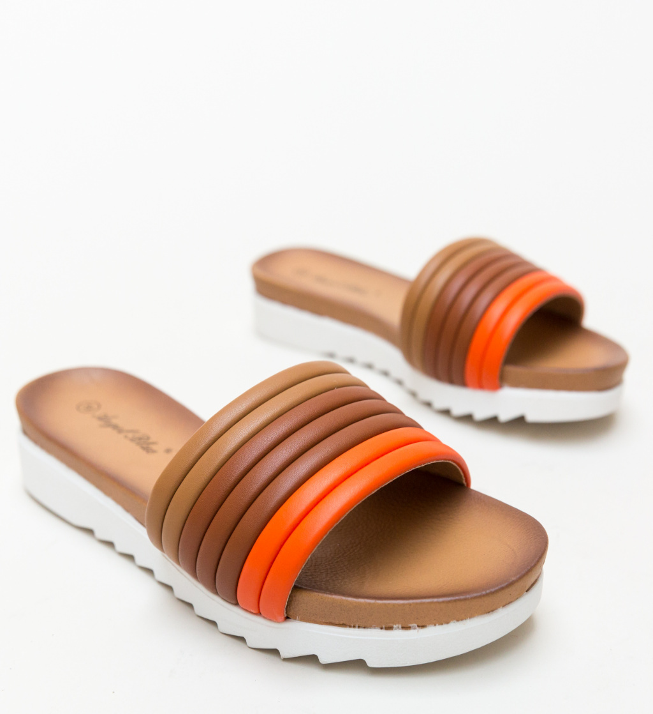 Papuci Ned Portocalii
