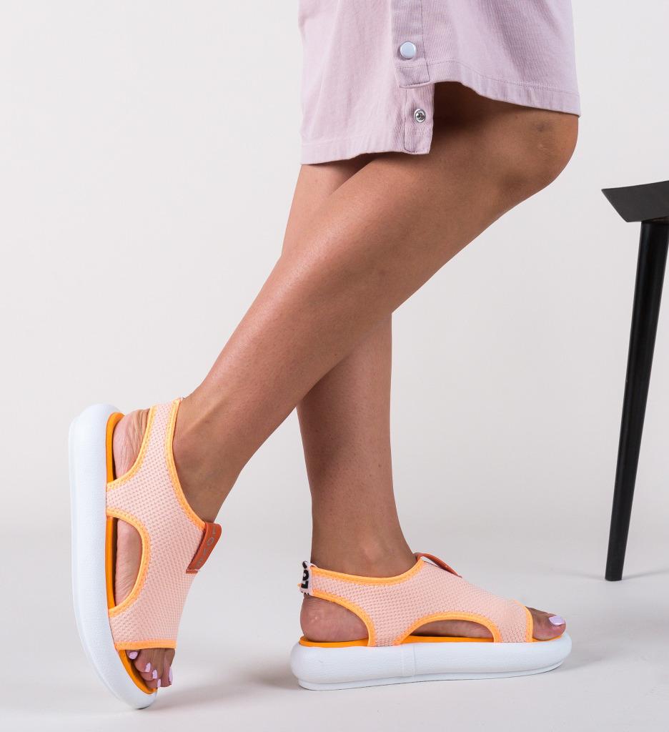 Sandale Blugan Portocalii