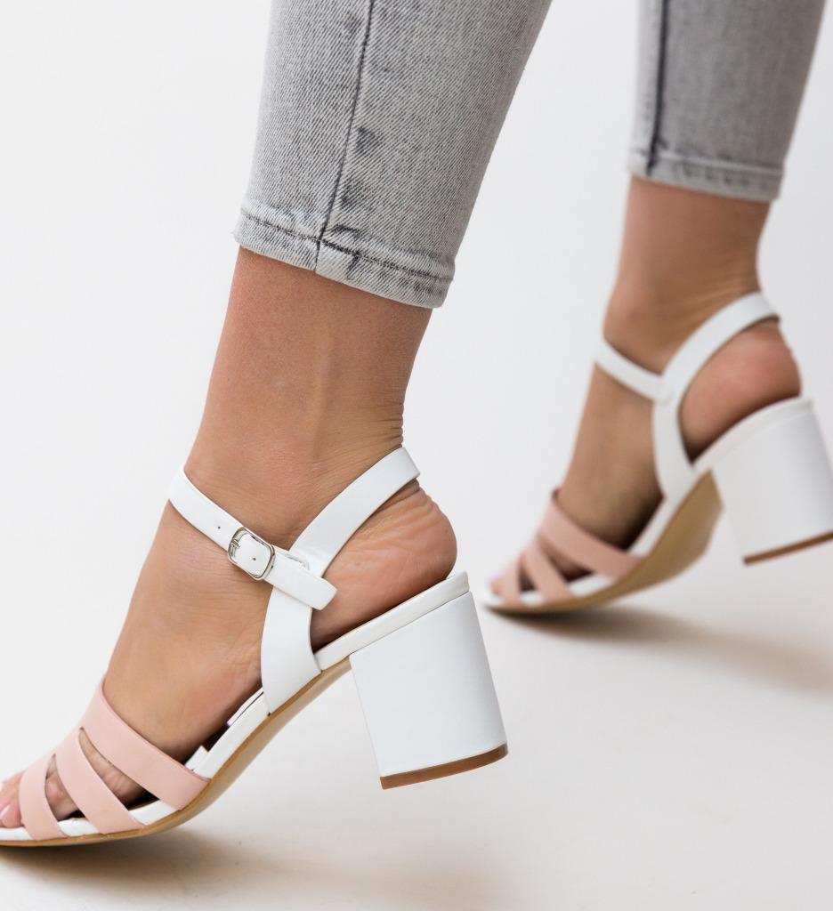 Sandale Bonat Albe