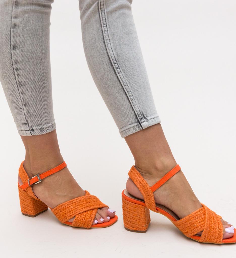 Sandale Cieran Portocalii