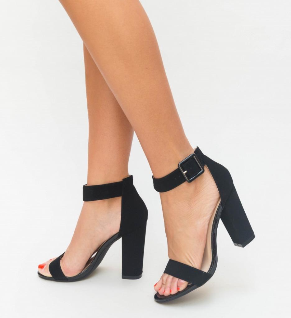 Sandale Dama Step Negre
