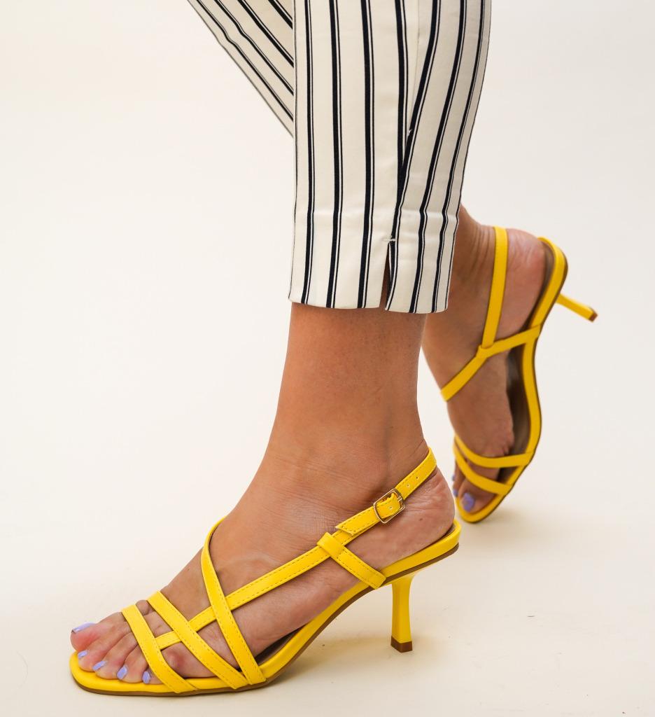 Sandale Flexo Galbene