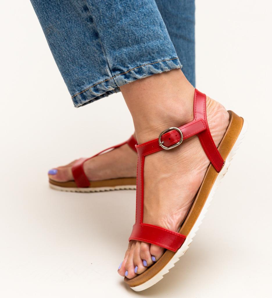 Sandale Gezon Rosii