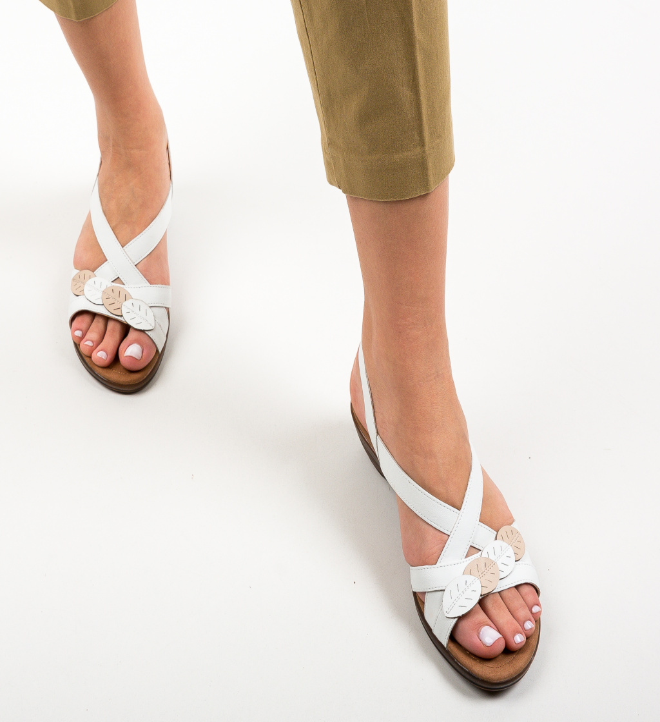 Sandale Hexago Albe