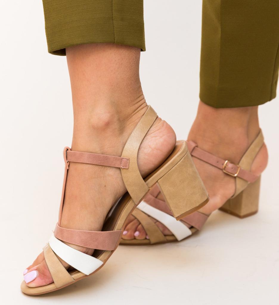 Sandale Hilda Bej