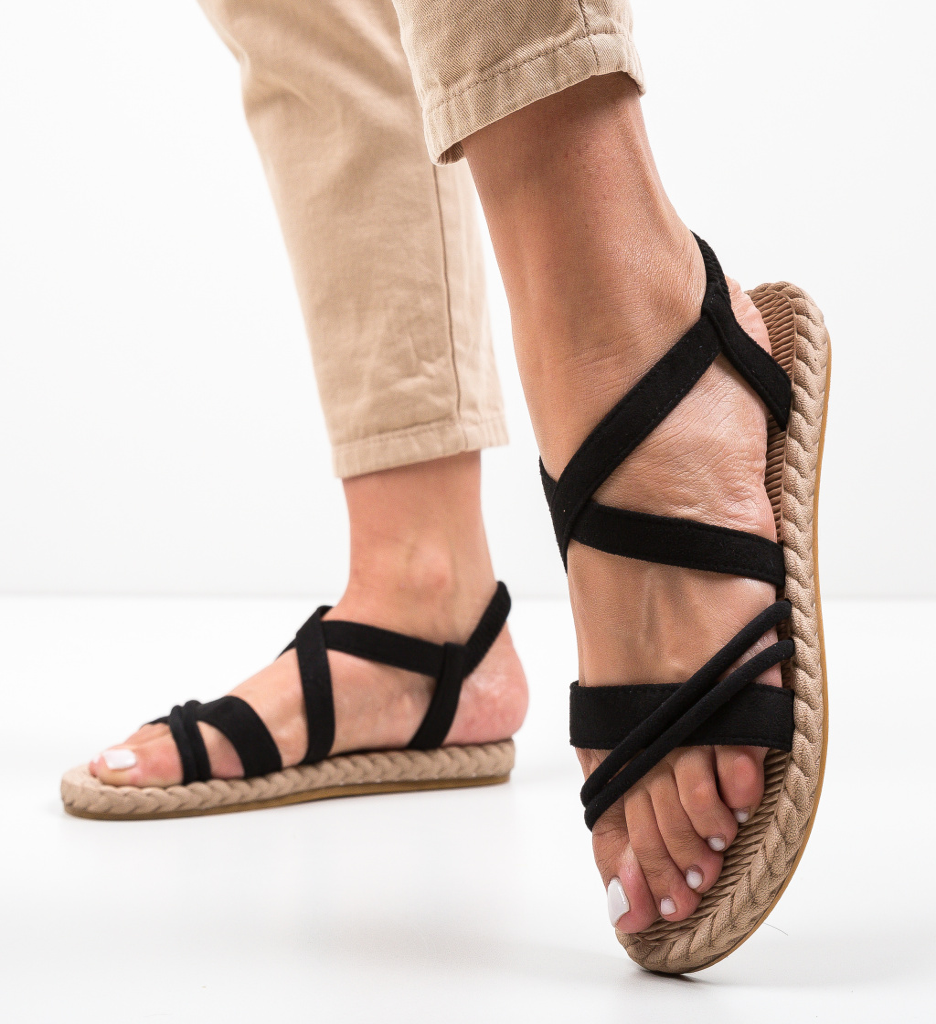 Sandale Lilice Negre