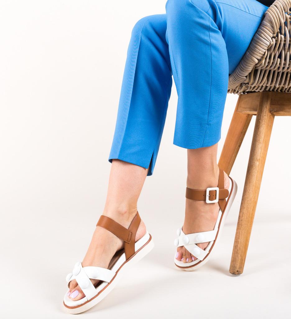 Sandale Luna Albe