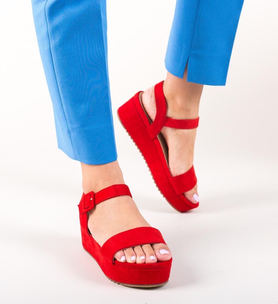 Sandale Neive Rosii