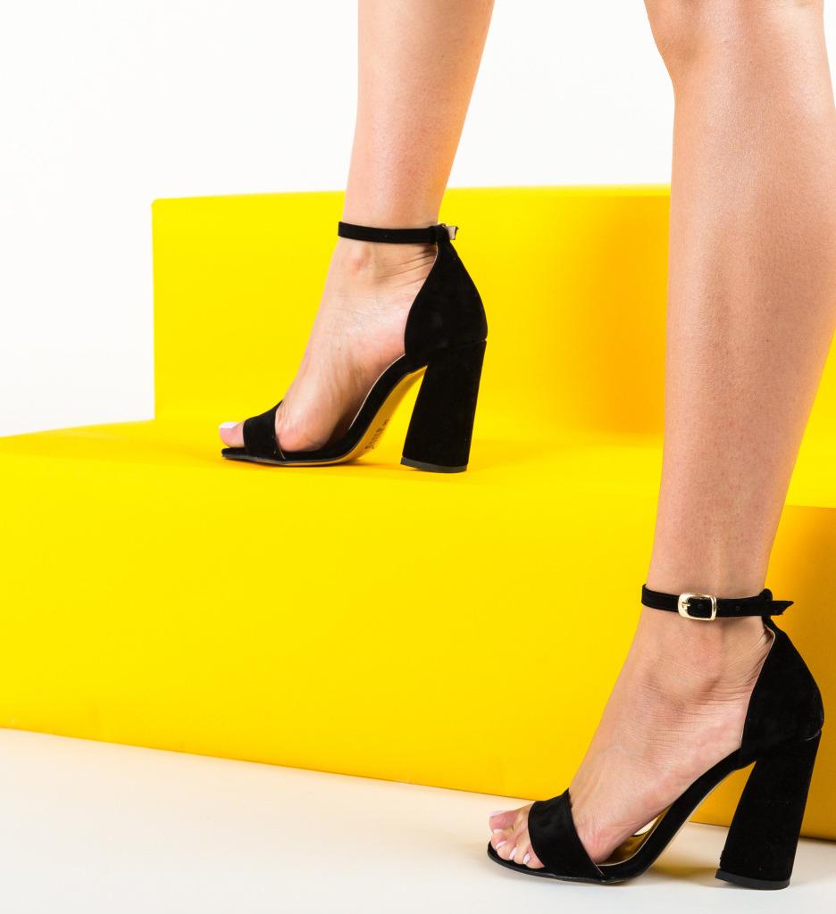 Sandale Pirelio Negre