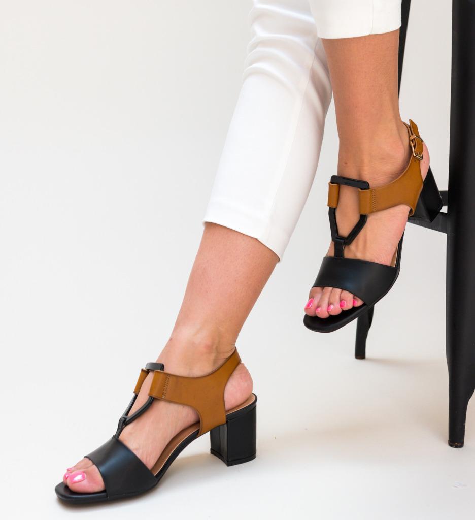 Sandale Scrund Negre