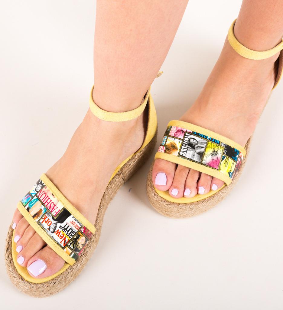 Sandale Voque Galbene