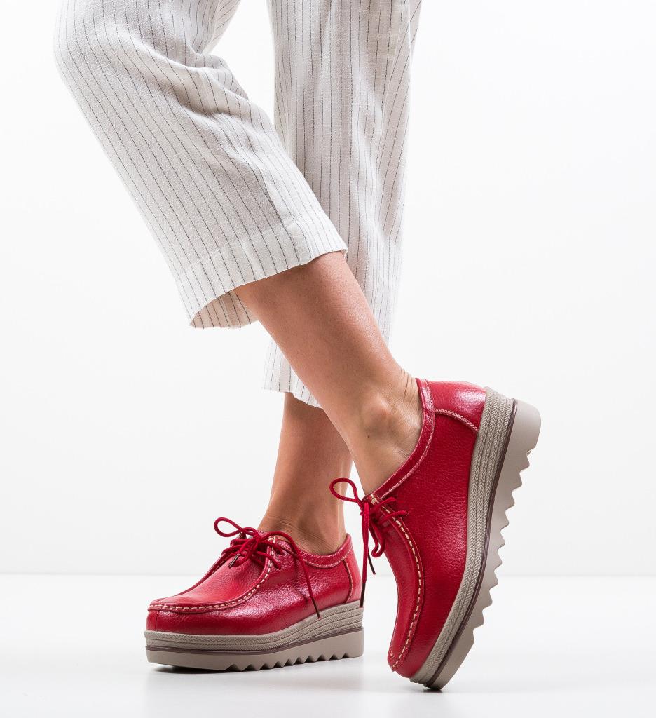Pantofi Casual Bubina Rosii