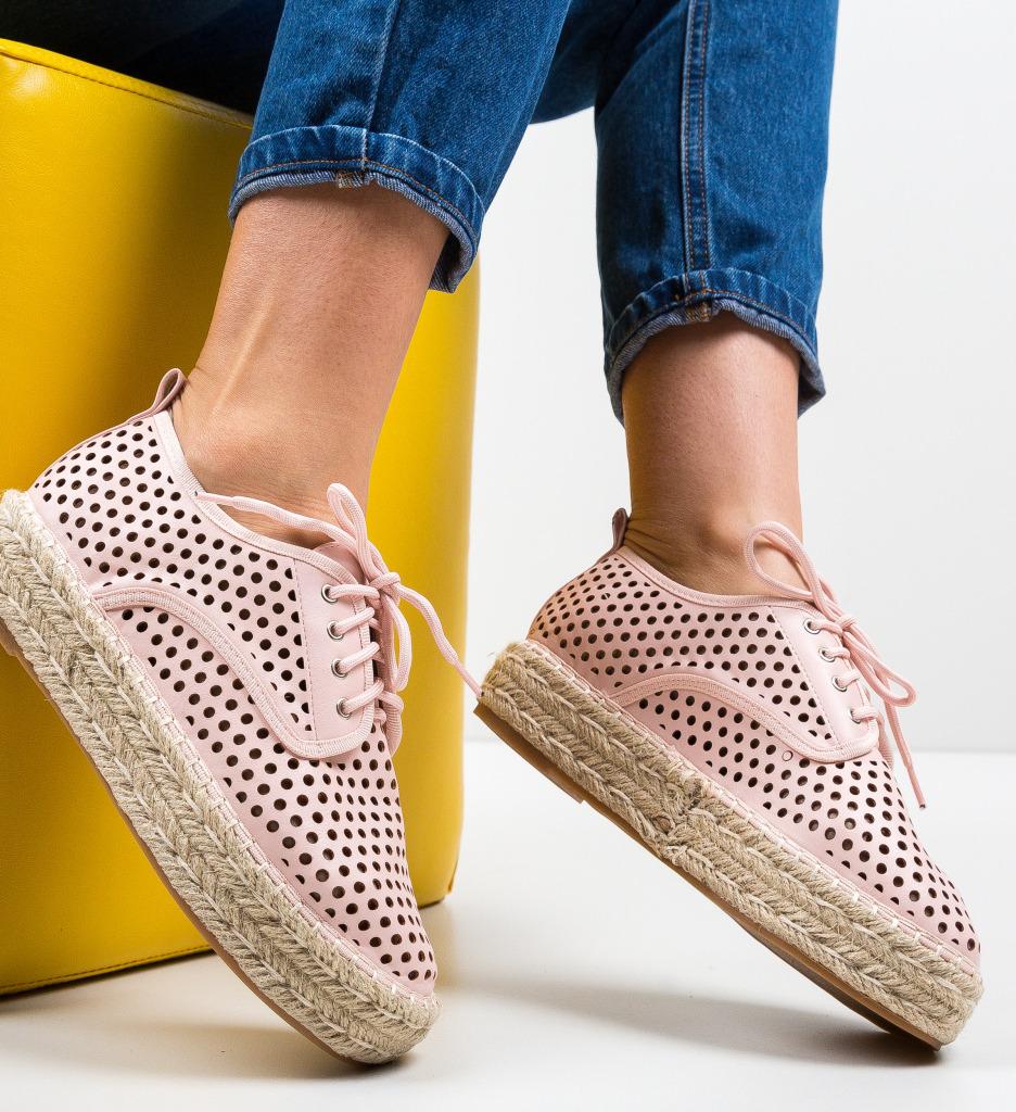 Pantofi Casual Cazori Roz