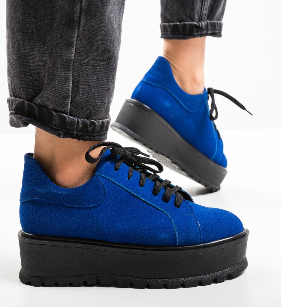 Pantofi Casual Dutano Albastri
