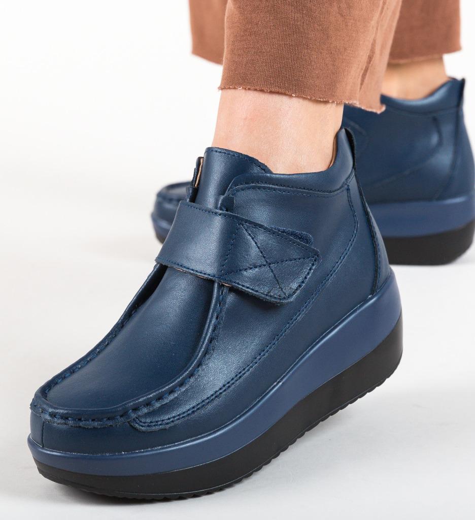 Pantofi Casual Euan Bleumarin