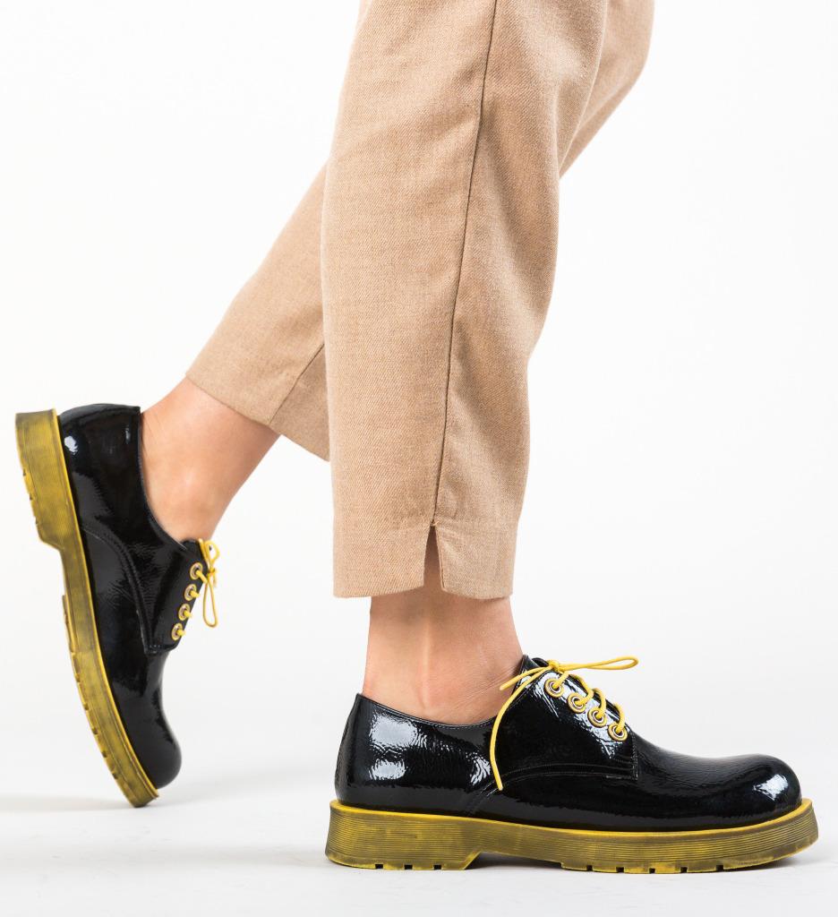 Pantofi Casual Flavored Galbeni