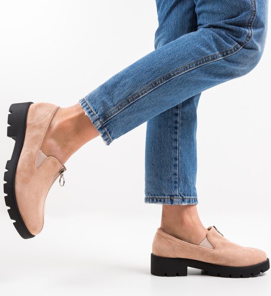 Pantofi Casual Guire Bej