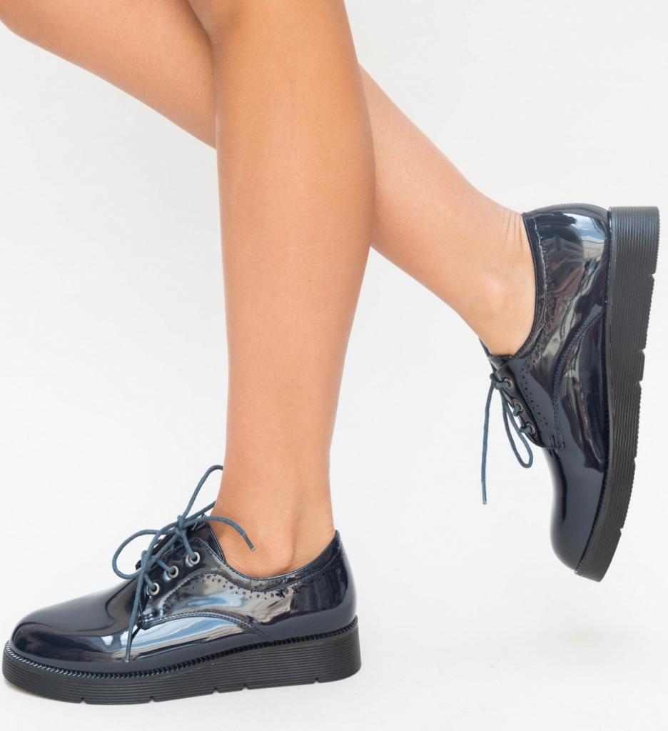 Pantofi Casual Guter Bleumarin