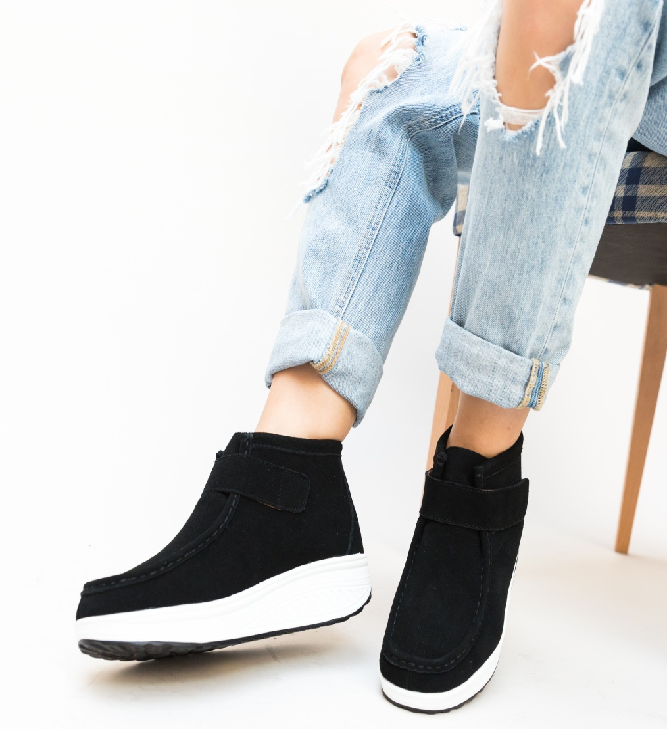 Pantofi Casual Misha Negre