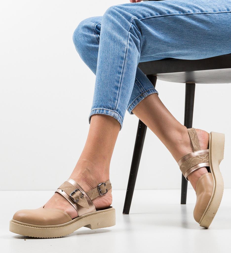 Pantofi Casual Peditre Bej