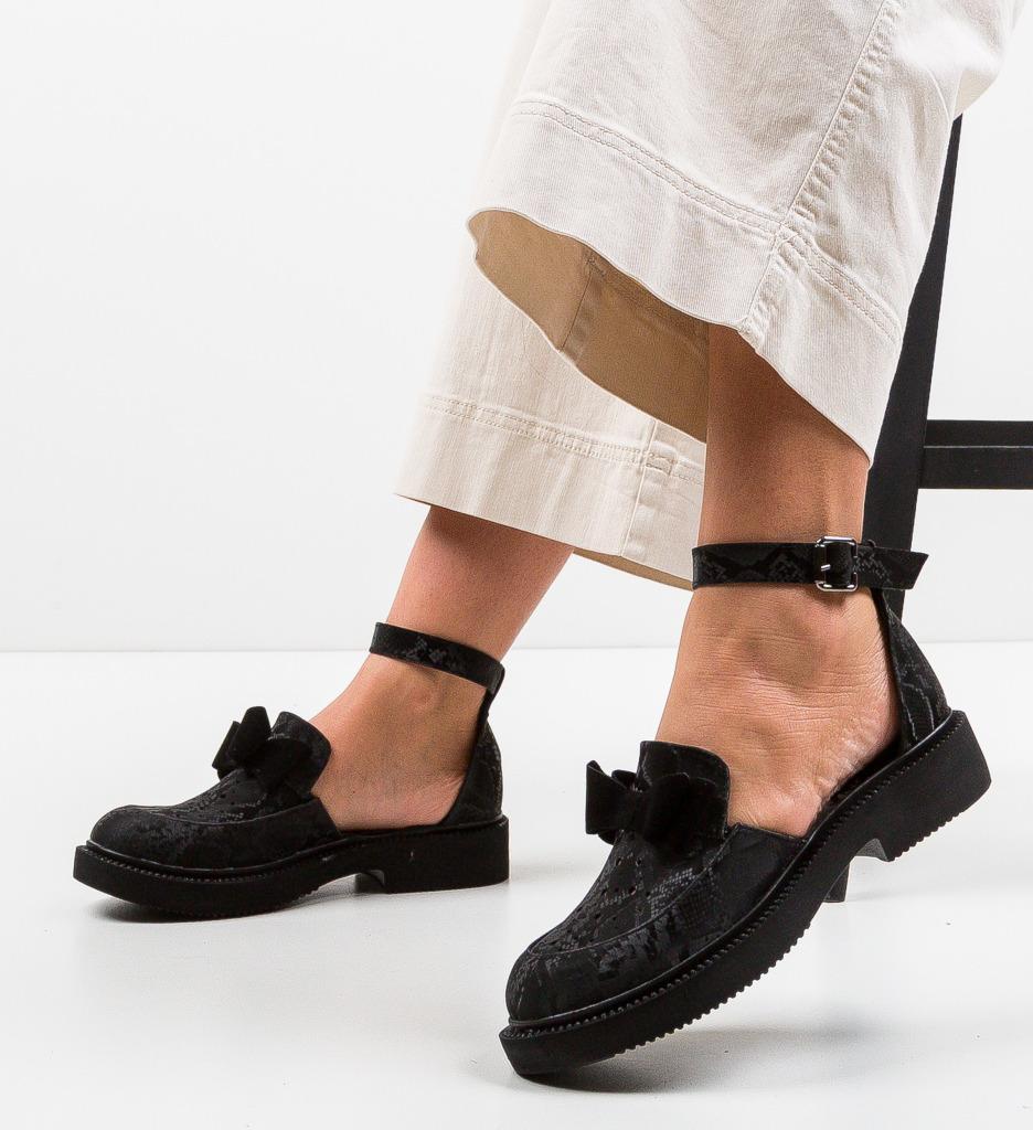 Pantofi Casual Pretty Negri 5