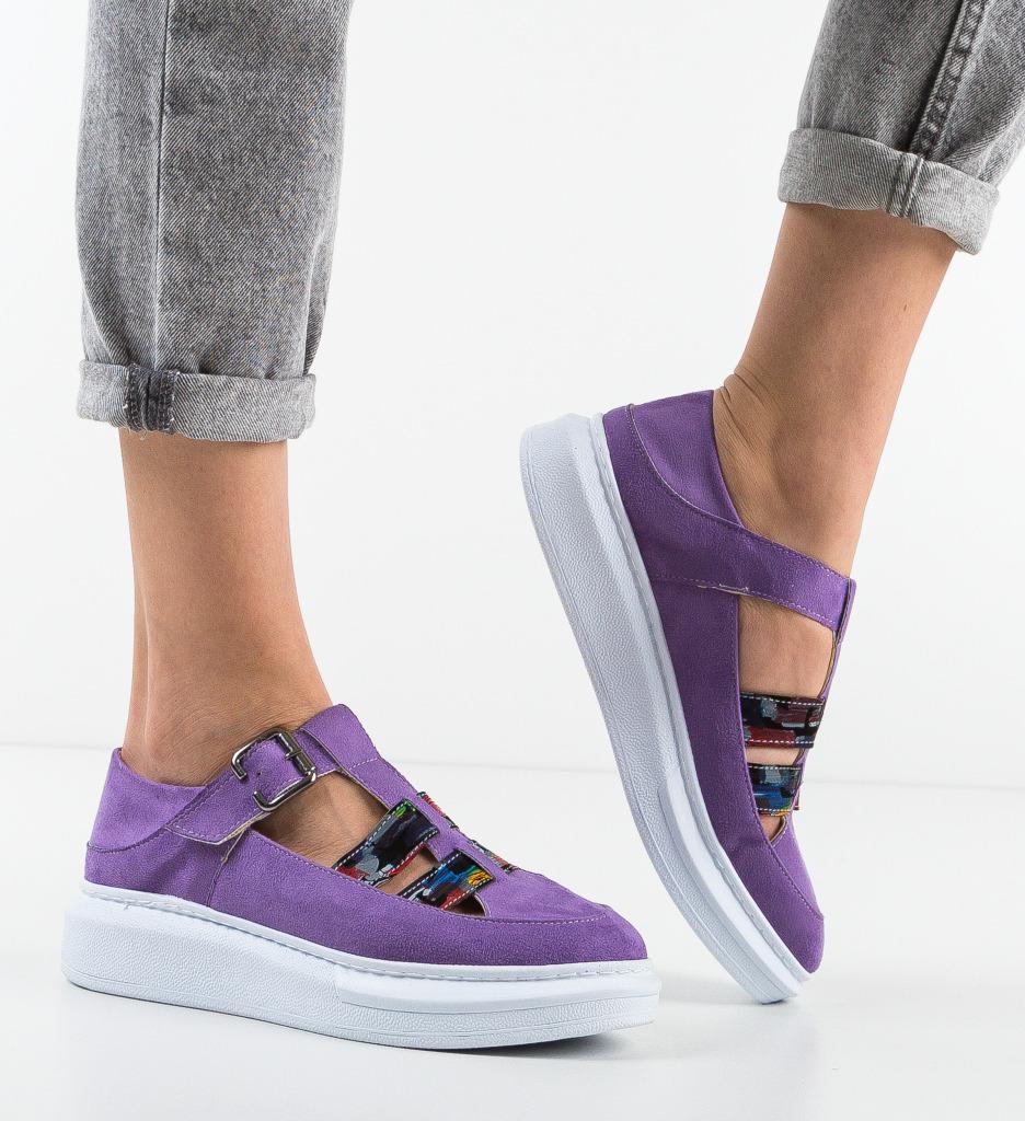 Pantofi Casual Sonicx Mov