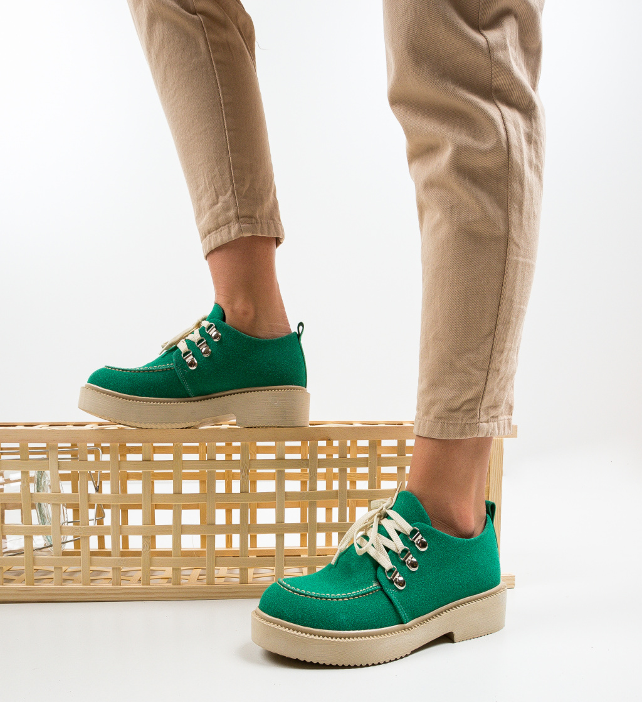 Pantofi Casual Squban Verzi