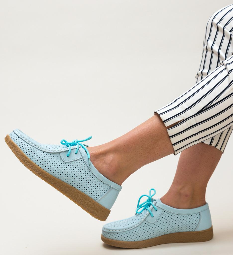Pantofi Casual Yorker Albastri