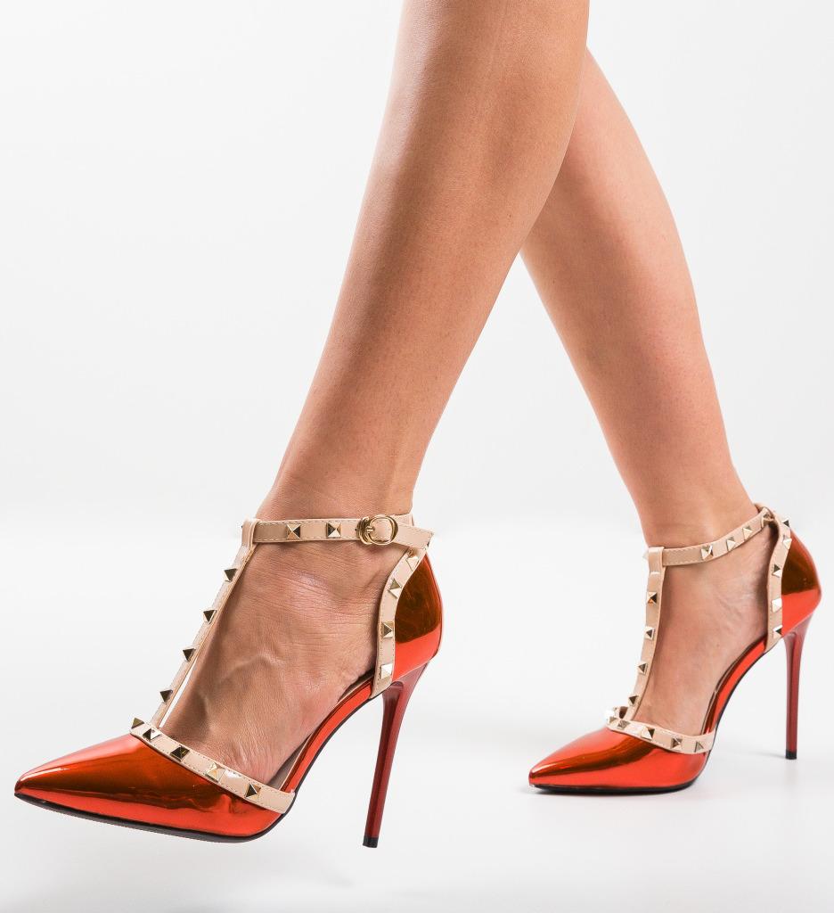 Pantofi Couls Rosii