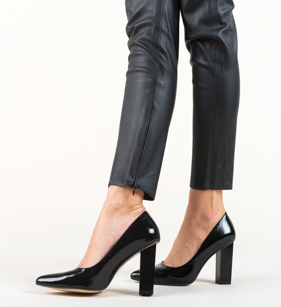 Pantofi Cuba Negri 3