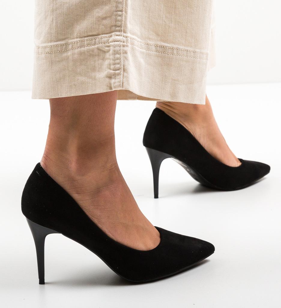 Pantofi Doyle Negri