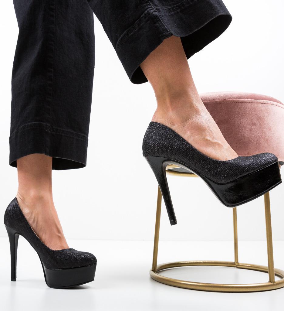 Pantofi Firth Negri