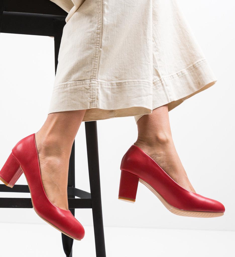 Pantofi Foxy Rosii