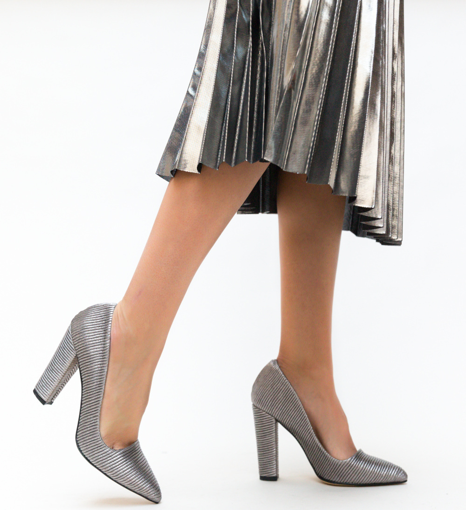 Pantofi Gabono Gri imagine