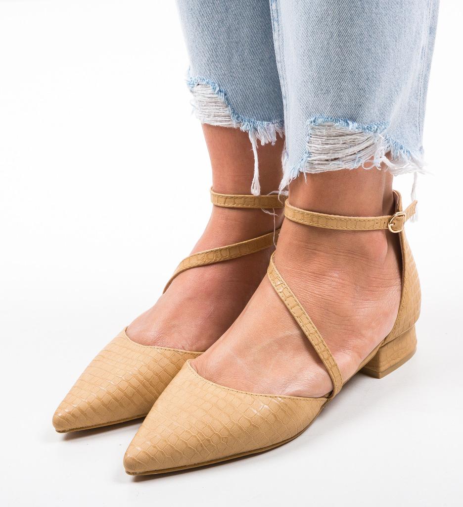 Pantofi Haney Camel