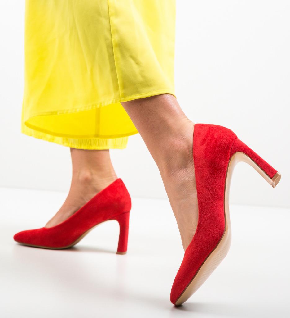 Pantofi Jolo Rosii