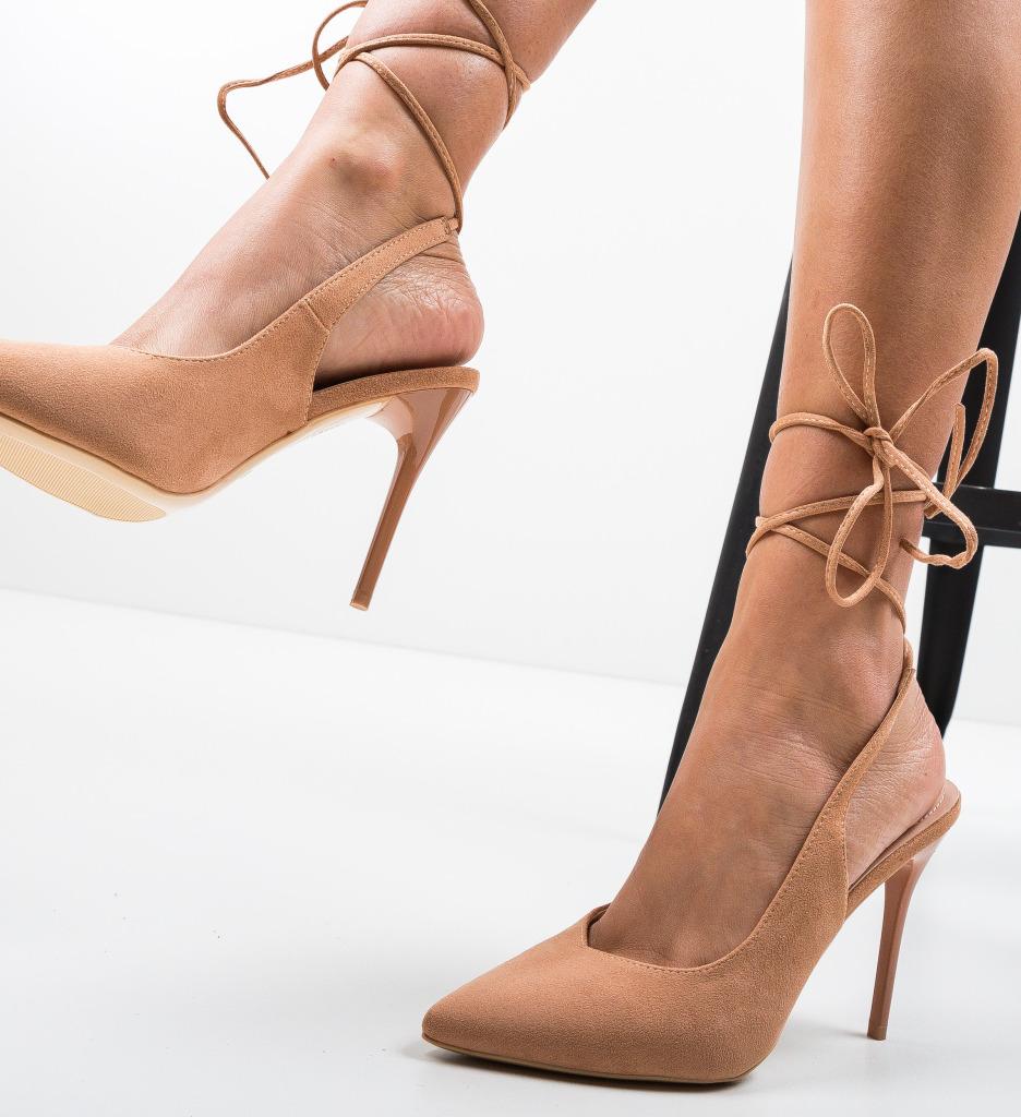 Pantofi Manis Nude