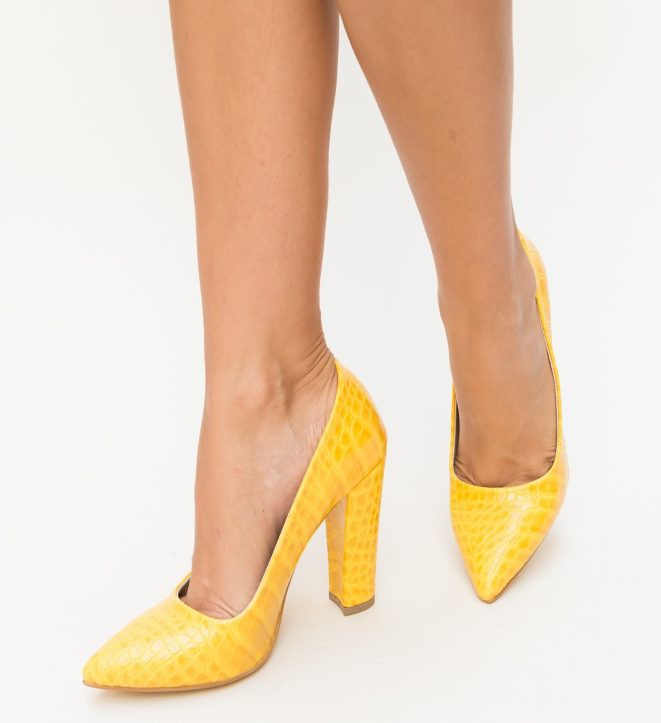 Pantofi Merez Galben